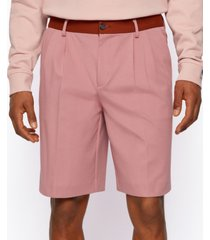 boss x russell athletic men's tapered-fit shorts