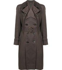 a.n.g.e.l.o. vintage cult 1970's aquascutum coat - brown