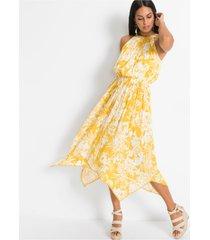 jurk met asymmetrische onderrand