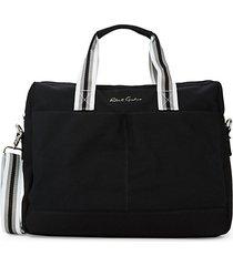 convertible cotton briefcase