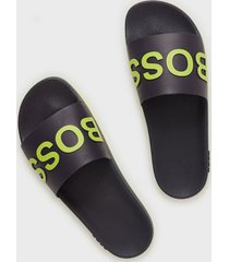 boss bay_slid sandaler & flip flops dark blue