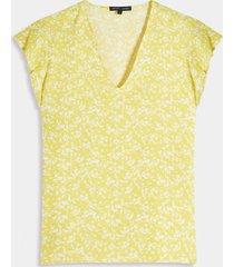 blusa amarillo-blanco seven seven