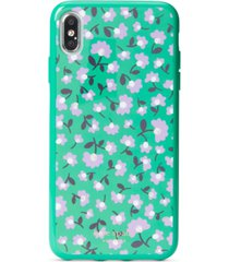 kate spade new york party floral jeweled iphone xs max case