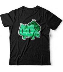 camiseta bulbasaur - unissex