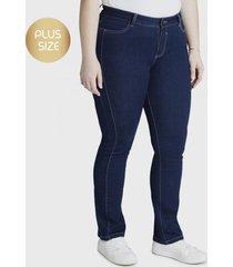 jeans recto azul curvi