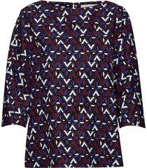 nepeta blouse lange mouwen blauw weekend max mara