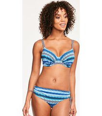 la manga underwire gathered full cup bikini top