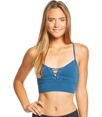 hard tail women's corset workout bra - river x-small cotton