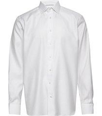 white micro weave twill shirt overhemd business wit eton