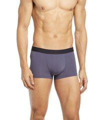 men's hanro micro touch boxer brief, size large - grey