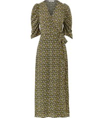 maxiklänning alina flower wrap dress