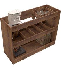 aparador bar 4030 luxo canela madeirado móveis jb bechara
