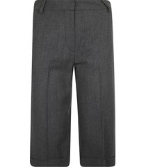 see by chloé classic plain shorts