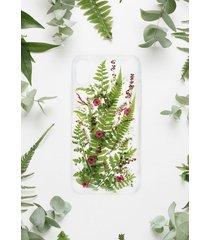 etui z suszonymi kwiatami - jungle love