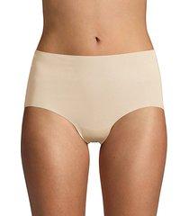 cotton-blend hipster panty