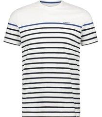 t-shirt state of art horizontaal gestreept