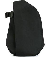 côte & ciel medium flat front backpack - black
