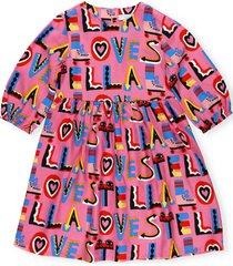 stella mccartney stella loves twill dress