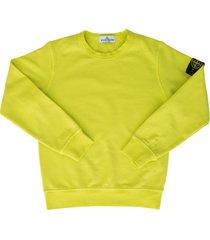 stone island junior l/s round neck sweater