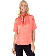 camisa lucy in the sky laco coral - kanui