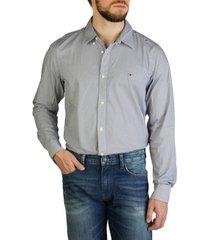 overhemd lange mouw tommy hilfiger - mw0mw12205