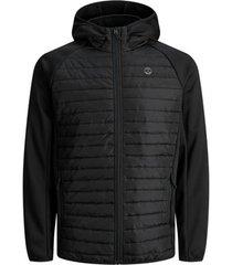 donsjas jack & jones 12182318 jjemulti quil ted jacket ps black
