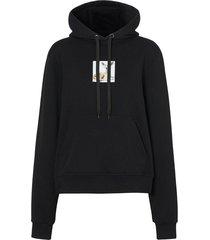 deer graphic hoodie