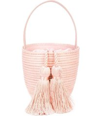 party pail bucket bag pink