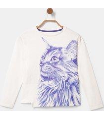 asymmetric bolimania t-shirt - white - 13/14