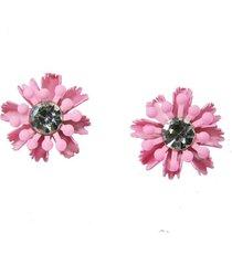 aretes rosados for topo ar-10927