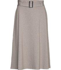 skirts knitted knälång kjol grå esprit collection