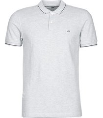 t-shirt korte mouw lee polo pique regular fit