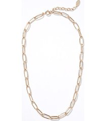 loft chain link statement necklace