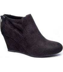 cl by chinese laundry women's viva wedge ankle booties women's shoes