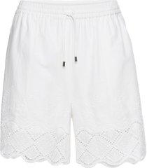 shorts con pizzo (bianco) - bodyflirt