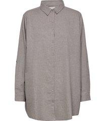 tara overhemd met lange mouwen grijs gai+lisva