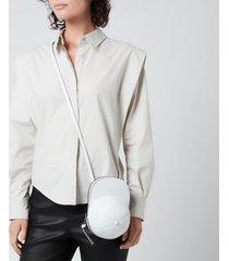jw anderson women's midi cap bag - white