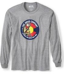 colorado circle trout long-sleeved t-shirt