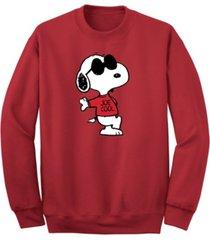 men's joe cool crew fleece sweatshirt