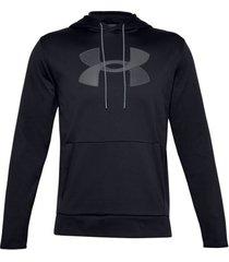 trainingsjack under armour fleece big logo hoodie