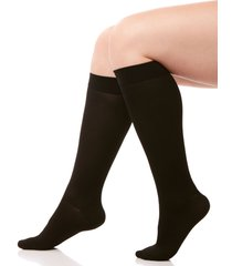 medium control graduated compression trouser socks