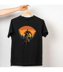 koszulka z nadrukiem downhil racer