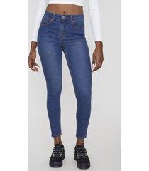 jeans básico skinny 5 bolsillos azul oscuro  corona