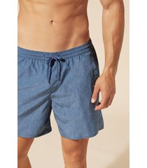 calzedonia men's formentera swim shorts man blue size xxl