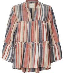 gestreepte blouse toga  multi