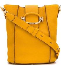 tod's bolsa tote - amarelo