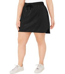 ideology plus size drawstring skirt, created for macy's