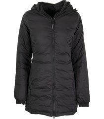 canada goose camp hooded jacket black