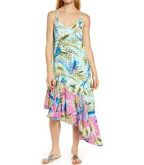 women's tommy bahama sunkissed asymmetrical cover-up dress