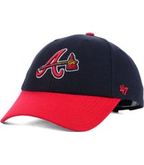 '47 brand atlanta braves mvp curved cap